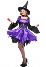 Purple Temptation Halloween Costume