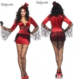 Halloween Vampire Saloon Costume
