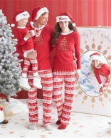 Red Cute Christmas Family Clothes