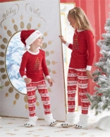 Kid Red Cute Christmas Clothes