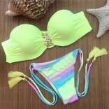 LightGreen New Fashion Women Bikini Swimwear